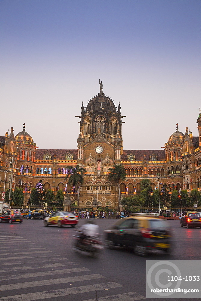 India, Maharashtra, Mumbai, Chhatrapati Shivaji Terminus