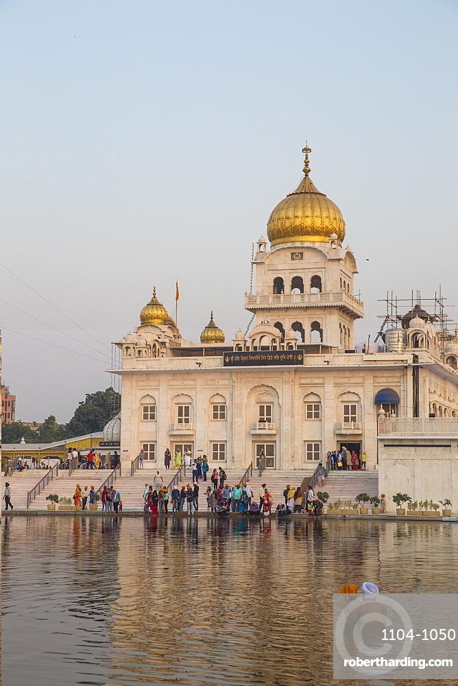 Gurdwara Bangla Sahib, a Sikh temple, New Delhi, Delhi, India, Asia