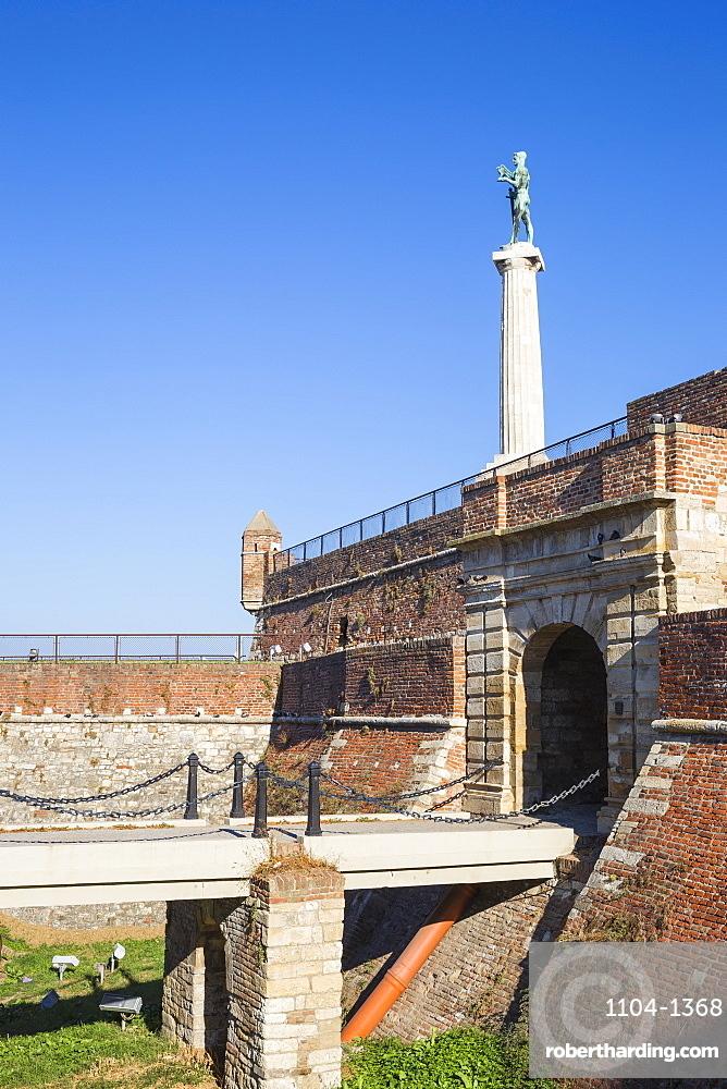 Victor Monument at Belgrade Fortress, Kalemegdan Park, Belgrade, Serbia, Europe