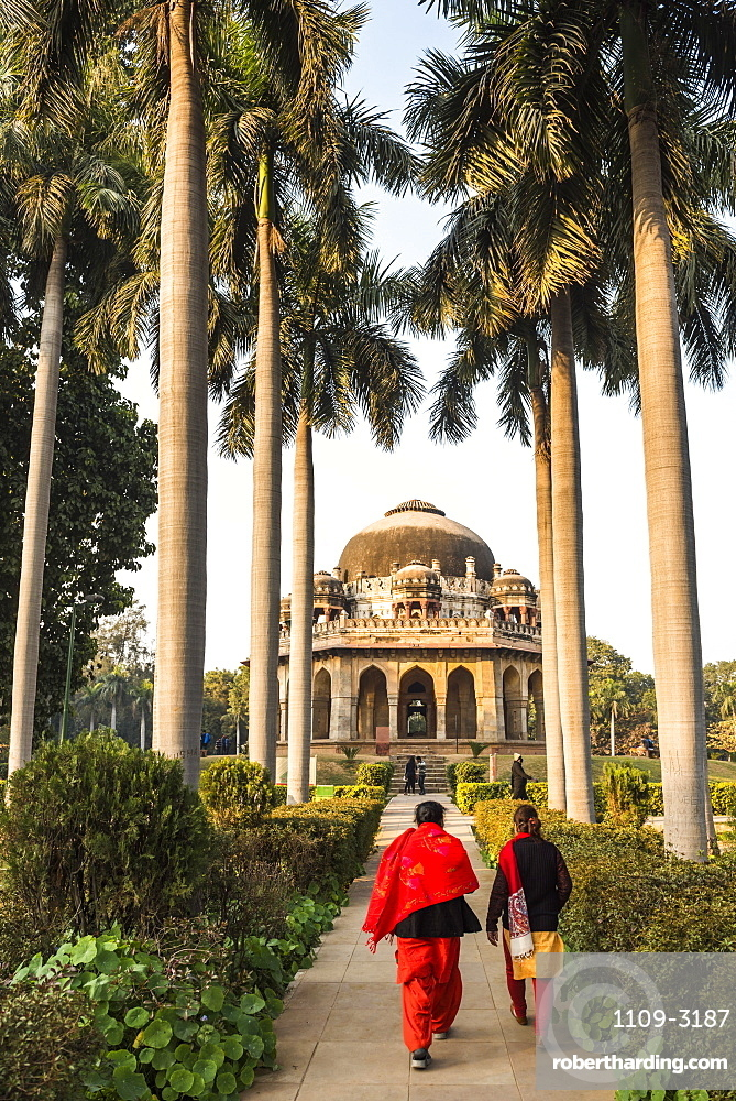 Tomb of Muhammad Shah, Lodi Gardens (Lodhi Gardens), New Delhi, India, Asia