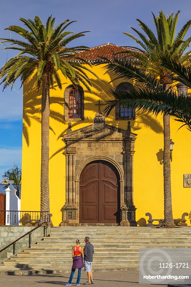 Monastery of San Francisco, Garachico, Puerto de la Cruz, Tenerife, Canary Islands, Spain, Atlantic Ocean, Europe