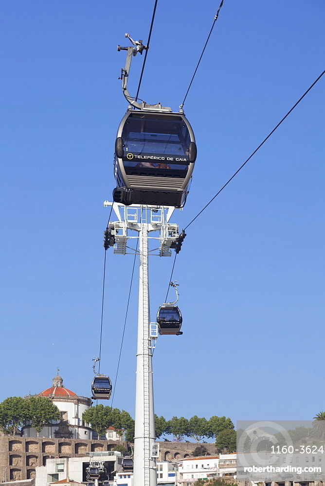 Teleferico de Gaia cable car, Vila Nova de Gaia, Porto, Oporto, Portugal