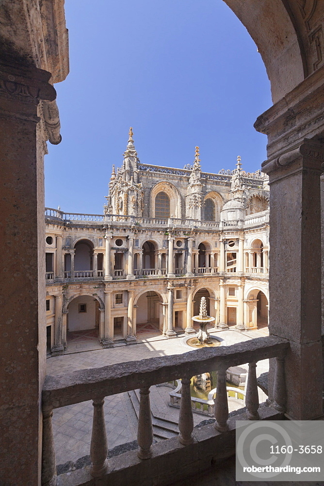 Convento de Cristi Monastery, UNESCO World Heritage Site, Tomar, Santarem District, Portugal