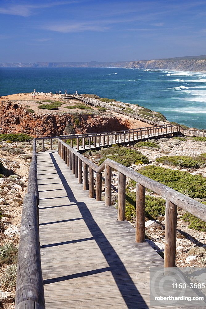 Praia da Borderia beach, Carrapateira, Costa Vicentina, west coast, Algarve, Portugal, Europe