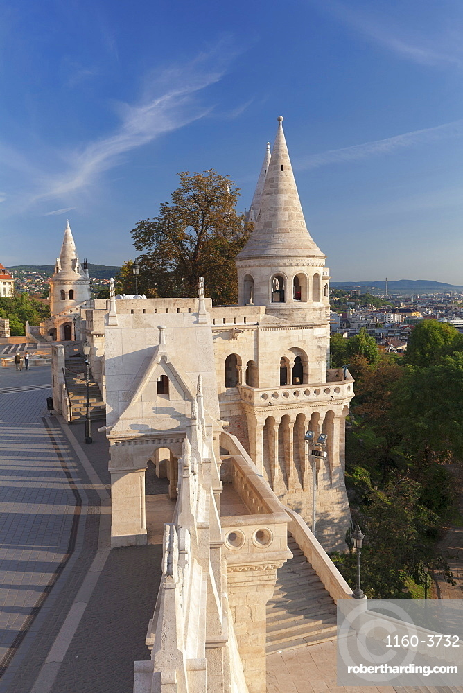 Fisherman's Bastion, Buda Castle Hill, Budapest, Hungary
