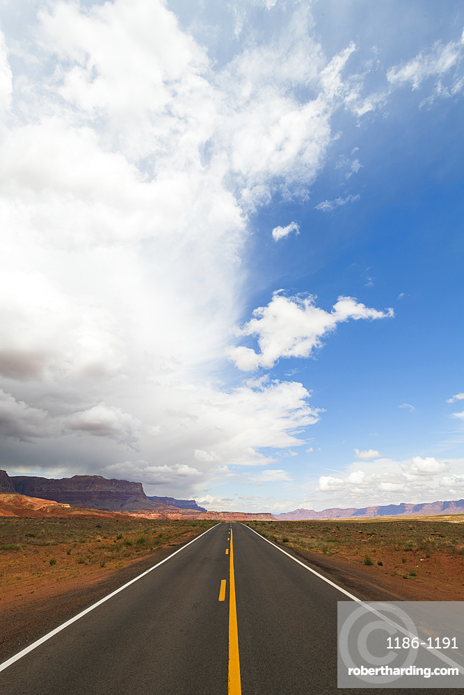 Highway on the North Rim of the Grand Canyon
