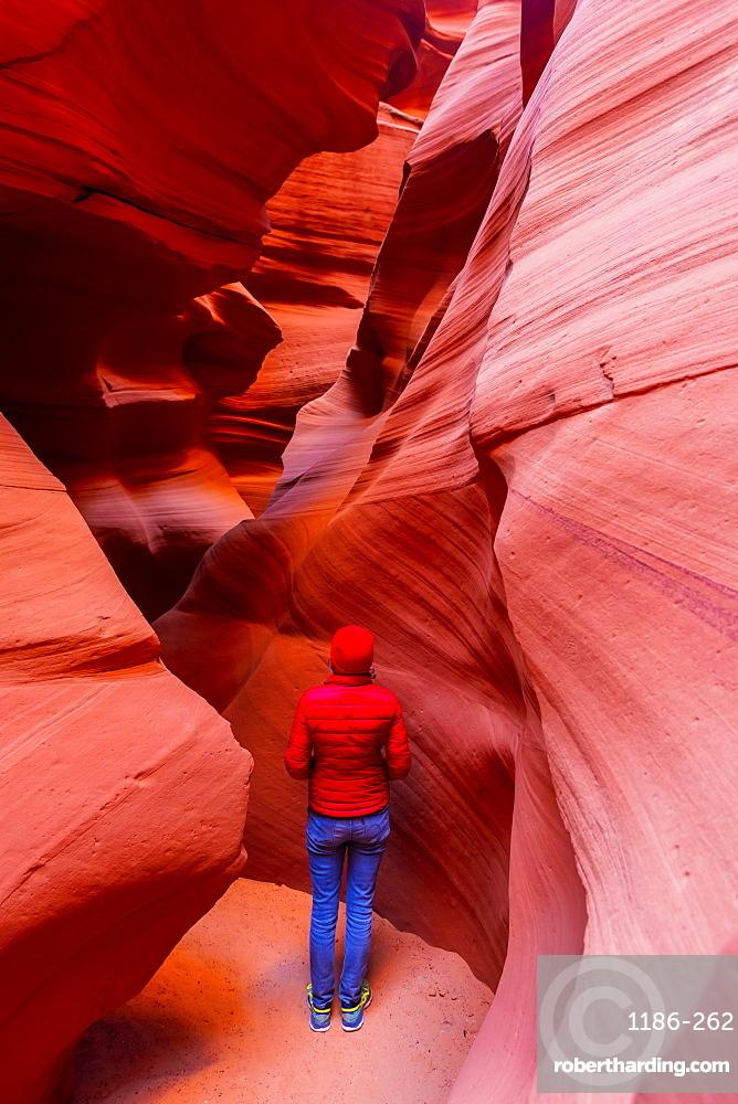 Antelope Canyon, Navajo Tribal Park, Page, Arizona, United States of America, North America