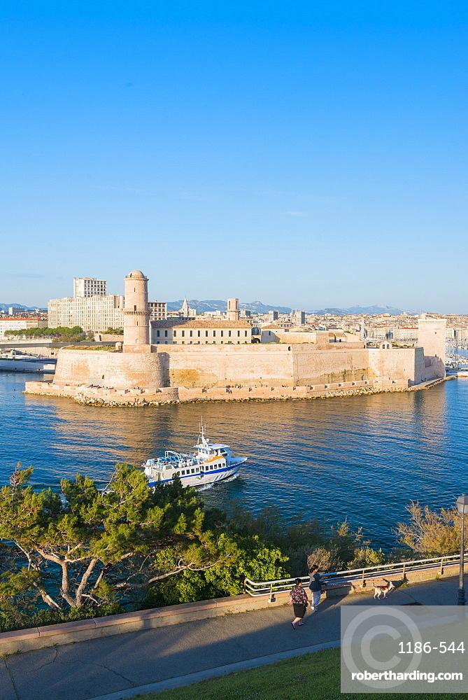 Fort Saint Jean Marseille, Bouches du Rhone, France
