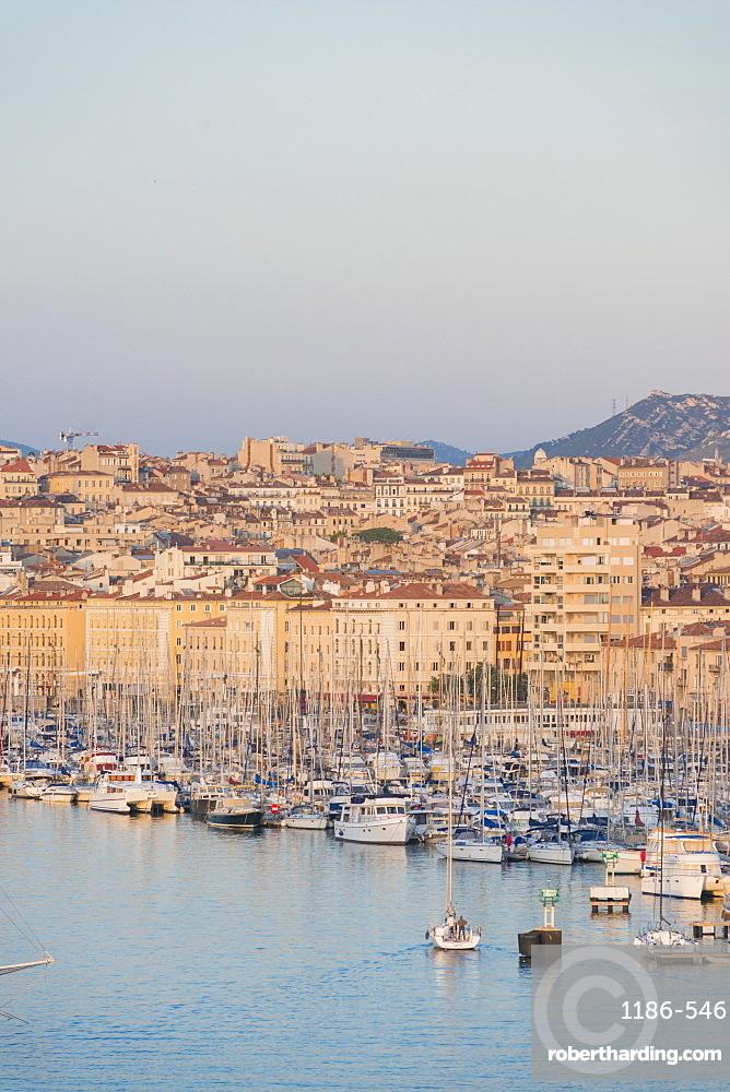 Marseille harbour, Marseille, Bouches du Rhone, France