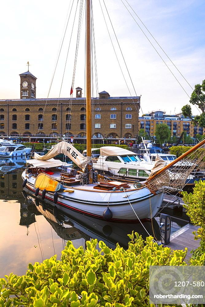 St Katharine's Dock, London, England, United Kingdom, Europe