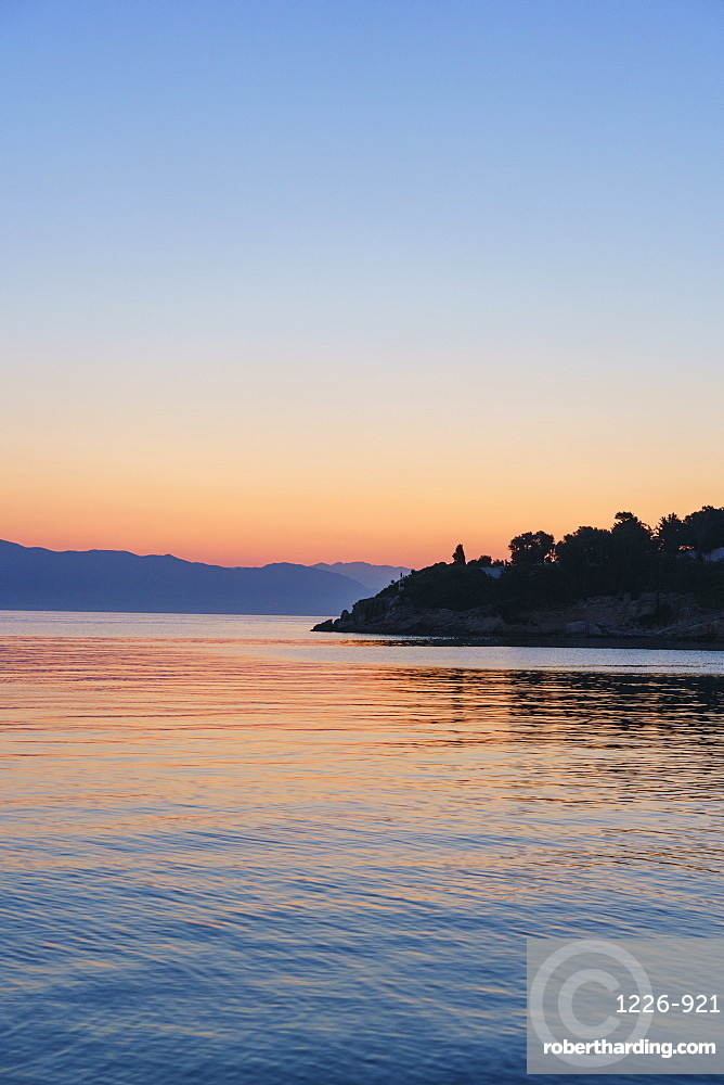 Sunrise, Gaios, Paxos, Ionian Islands, Greek Islands, Greece, Europe