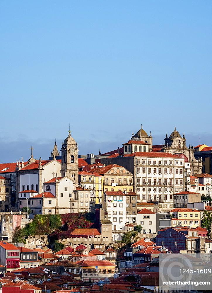 View towards Nossa Senhora da Vitoria Church, Porto, Portugal, Europe