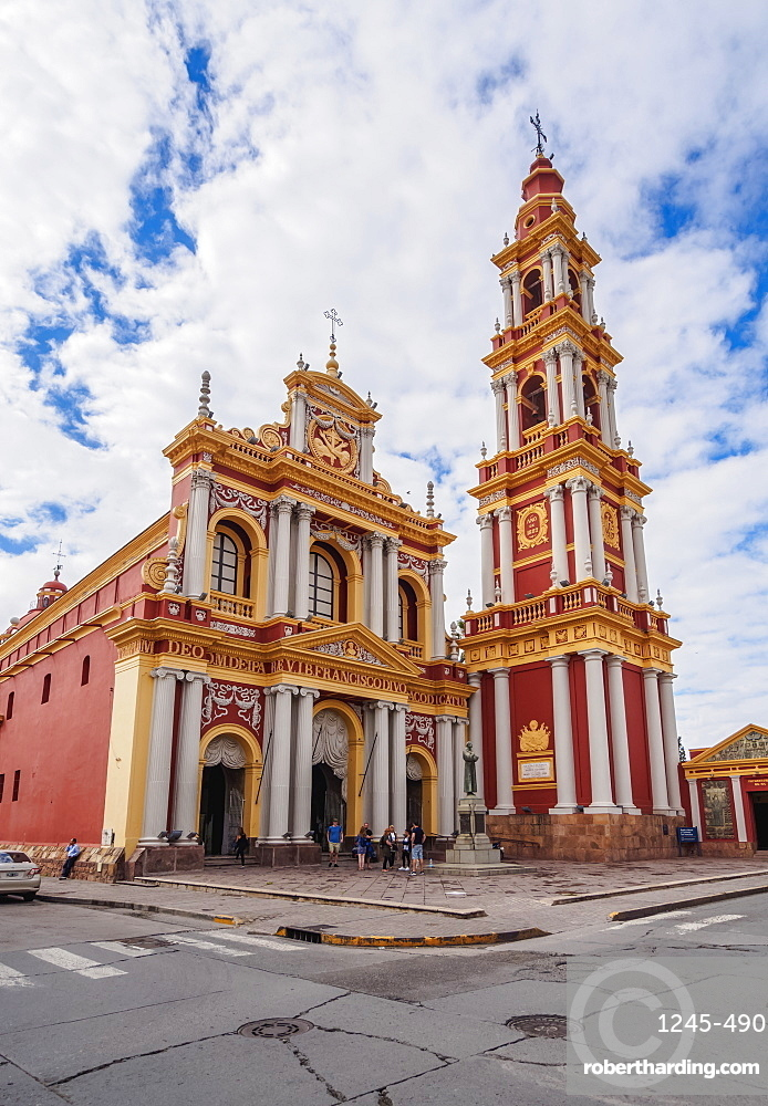Saint Francis Church, Salta, Argentina, South America