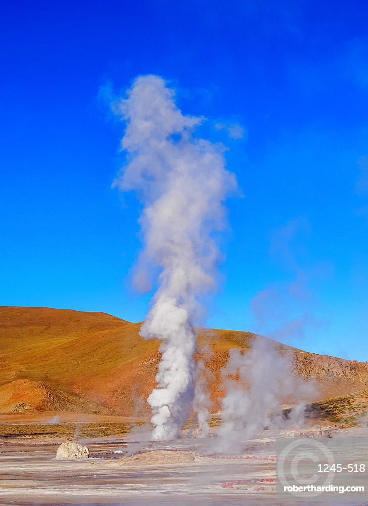 Geysers El Tatio, Antofagasta Region, Chile, South America