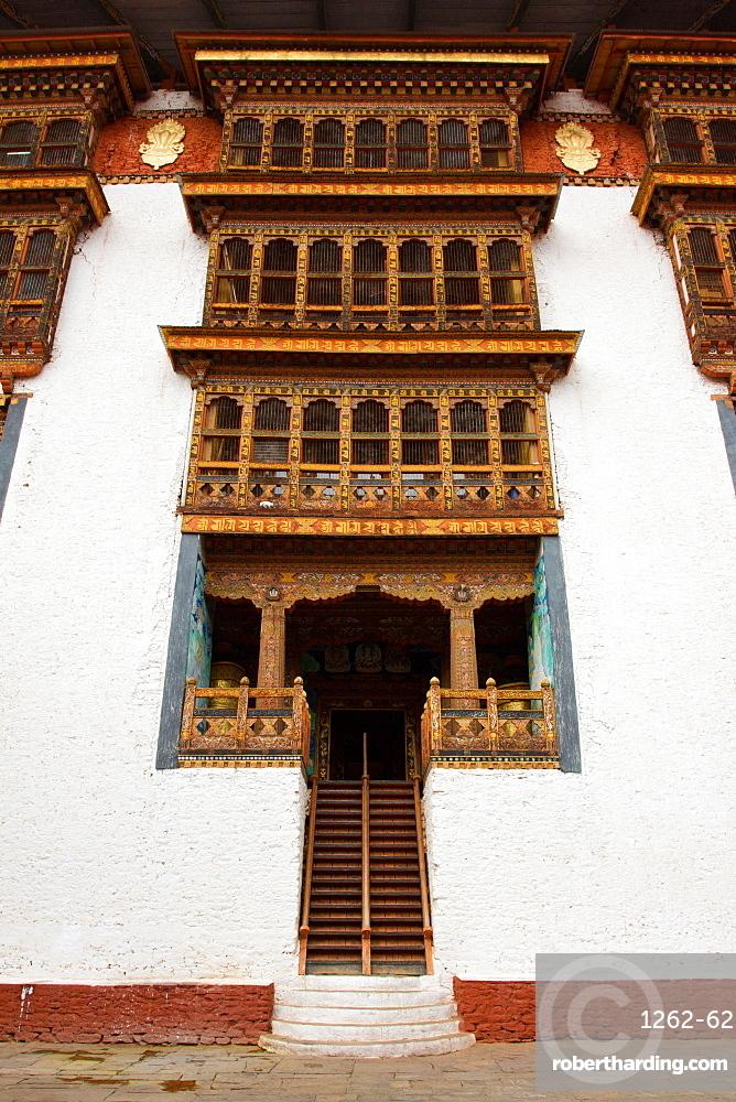 Punakha Fortress Monastery, Paro, Bhutan, Asia