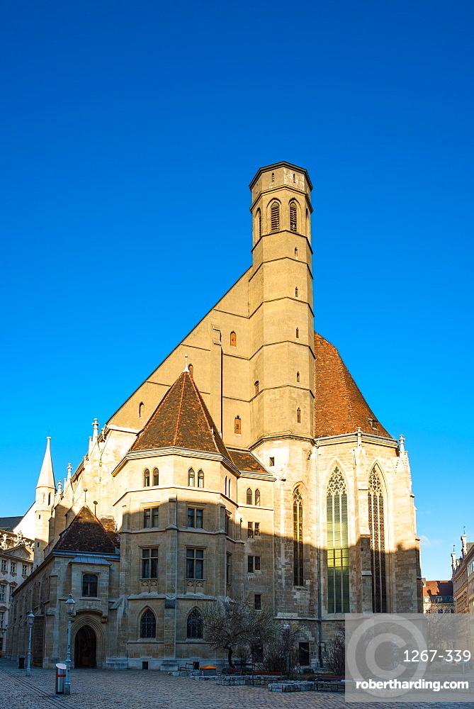 Minoritenkirche (Minorities Church) dating from circa 1350 at Minoritenplatz, Vienna, Austria, Europe