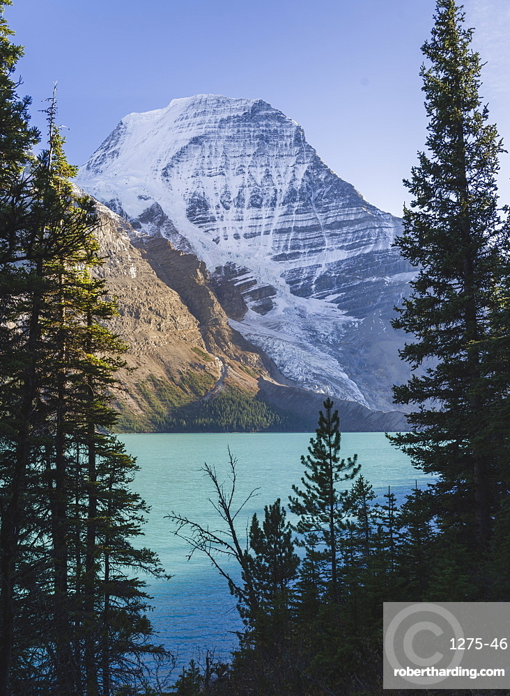Mount Robson, UNESCO World Heritage Site, Canadian Rockies, British Columbia, Canada, North America