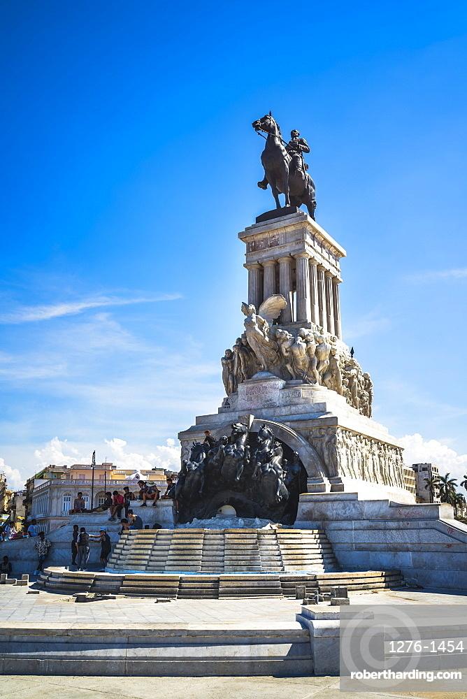 Maximo Gomez Monument, La Habana, Havana, Cuba, West Indies, Caribbean, Central America