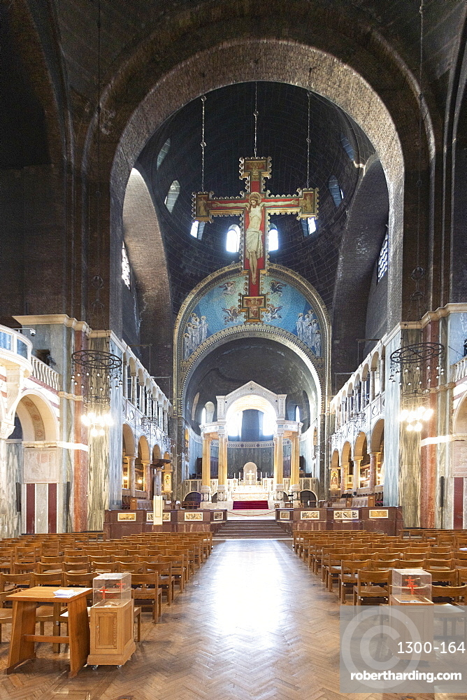 Interior details of Westminster Cathedral