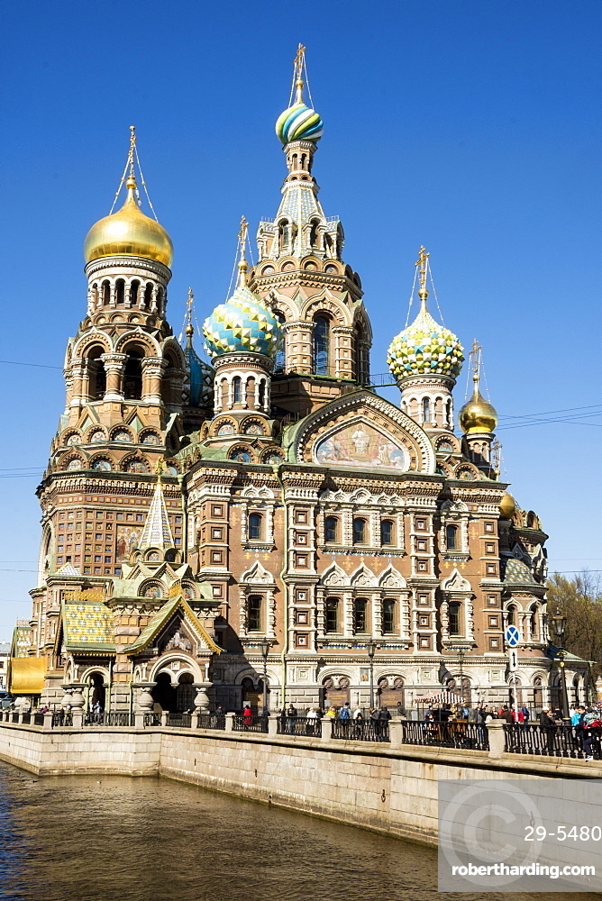 Church of our Saviour on Spilled Blood (Church of the Resurrection of Christ), St Petersburg, Russia