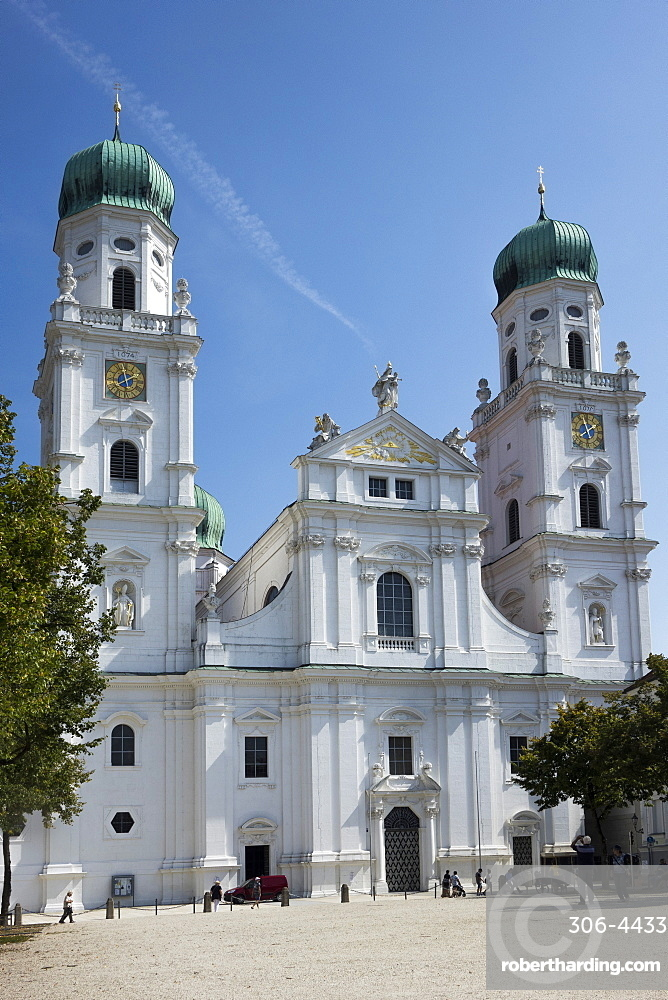 St. Stephens Cathedral, Passau, Lower Bavaria, Germany, Europe