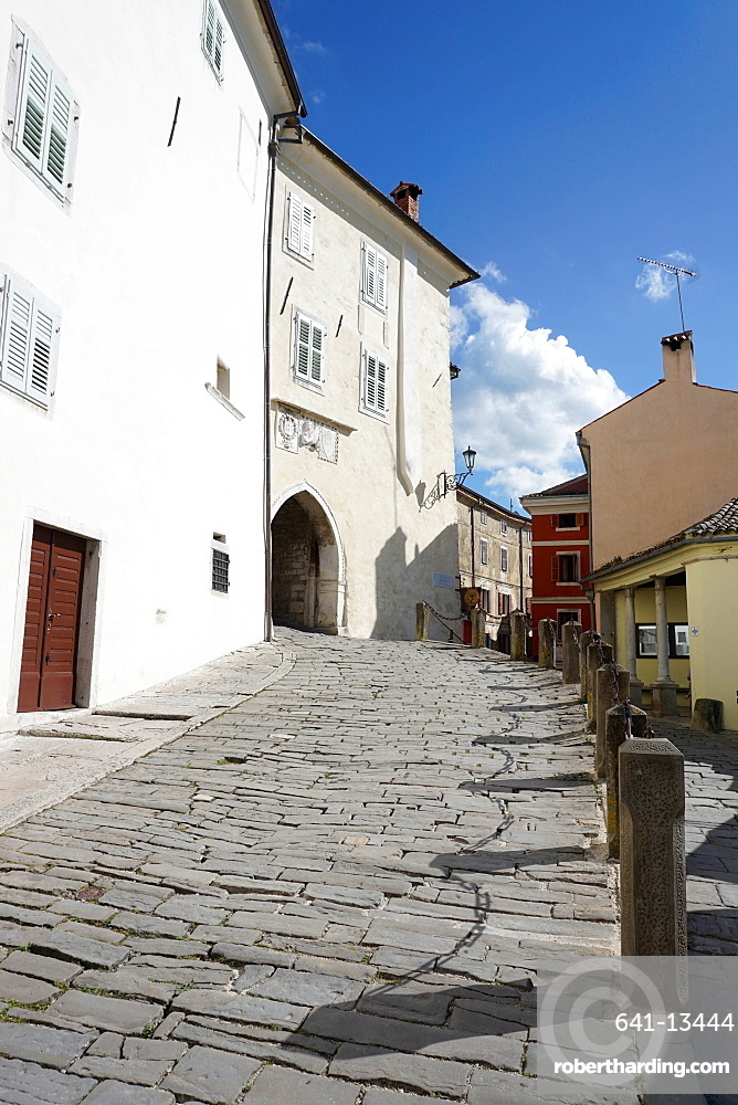 Hill village of Motovun, Istra Peninsula, Croatia, Europe