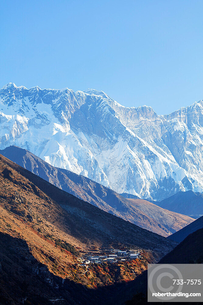 Village of Dingboche, Sagarmatha National Park, UNESCO World Heritage Site, Khumbu Valley, Nepal, Himalayas, Asia