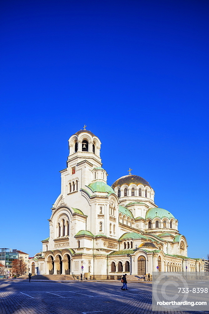 Alexander Nevsky Orthodox Cathedral, Sofia, Bulgaria, Europe