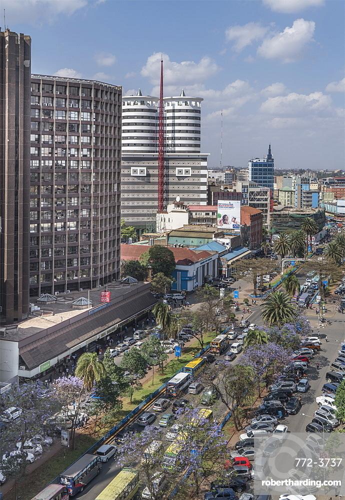Kenyatta Avenue, Nairobi, Kenya, East Africa, Africa