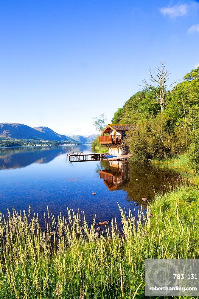 Duke of Portland Boathouse, Ullswater, Pooley Bridge, Lake District, Cumbria