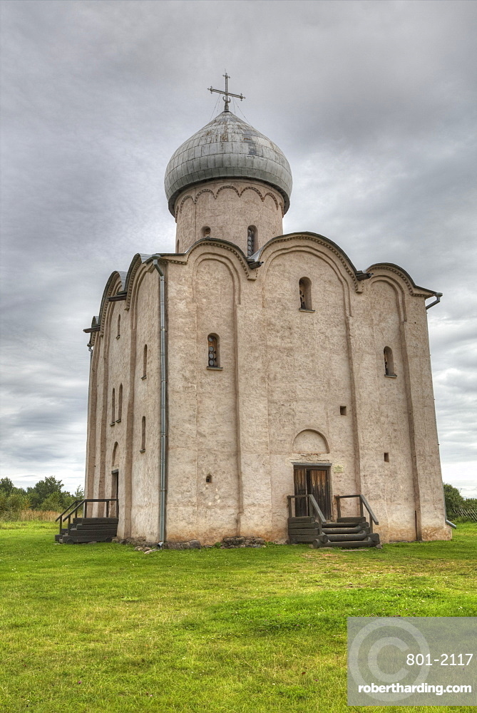 Church of Nereditsa, UNESCO World Heritage Site, Veliky Novgorod, Novgorod Oblast, Russia, Europe