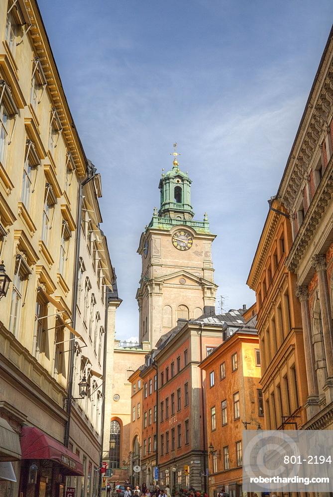 German Church (Tyska Kyrkan), Gamla Stan, Stockholm, Sweden, Scandinavia, Europe