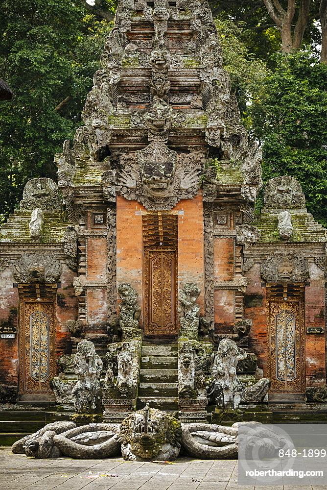Monkey Forest Sanctuary, Ubud, Bali, Indonesia, Southeast Asia, Asia
