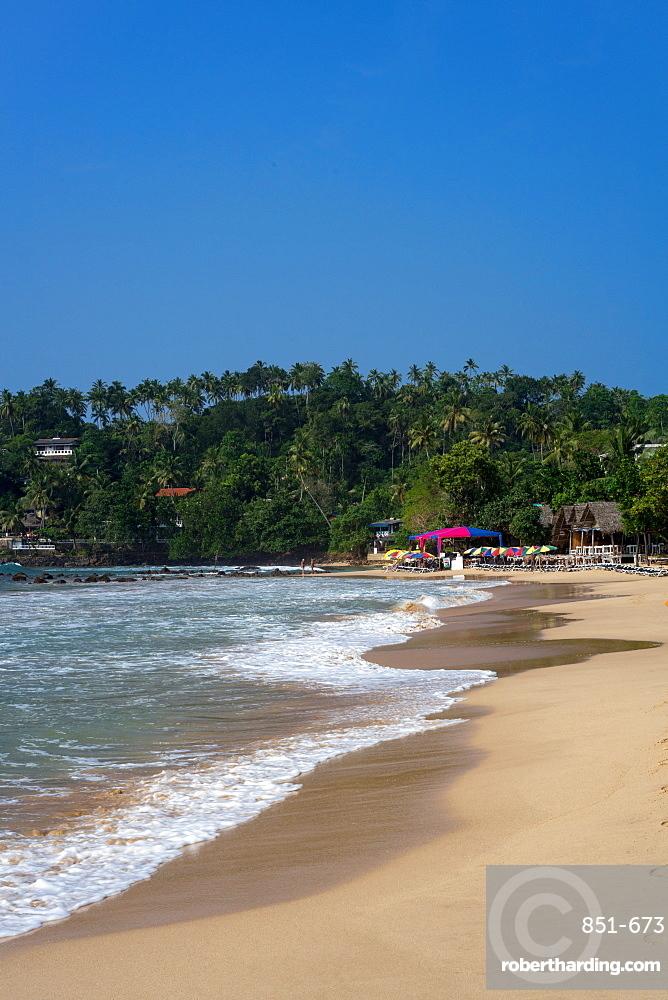 Mirissa Beach on the south coast of Sri Lanka, Asia