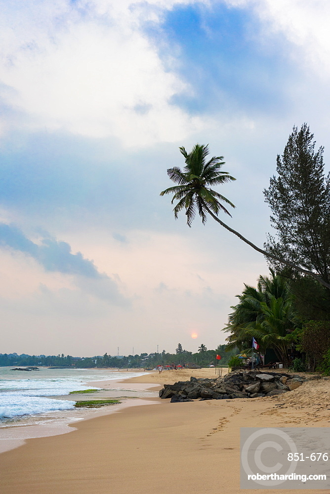 Tangalle Beach on the south coast of Sri Lanka, Asia