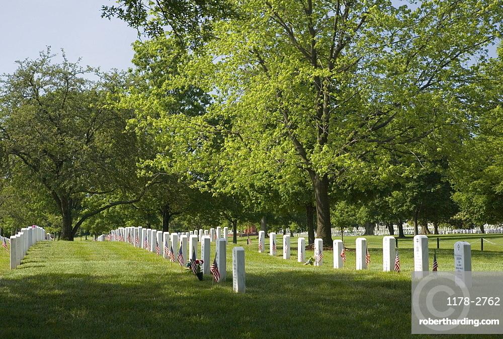 Arlington National Cemetery Washington DC USA