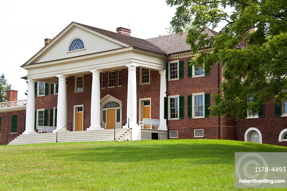 USA, Virginia, Orange, Montpelier, James Madison's house