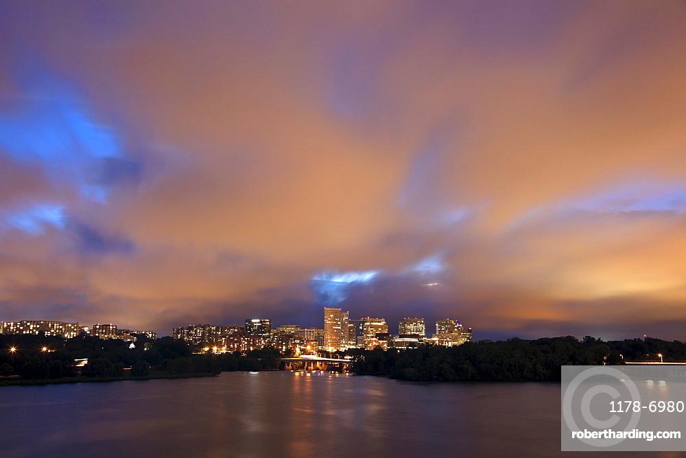 Arlington, Virginia - sunset time