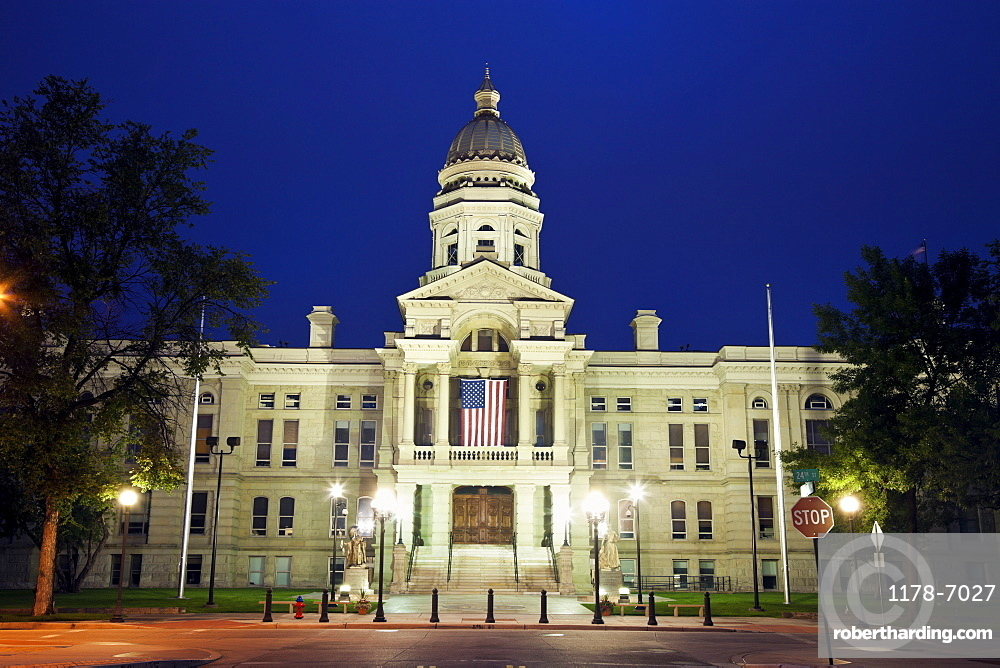 State Capitol Building in Cheyenne, | Stock Photo
