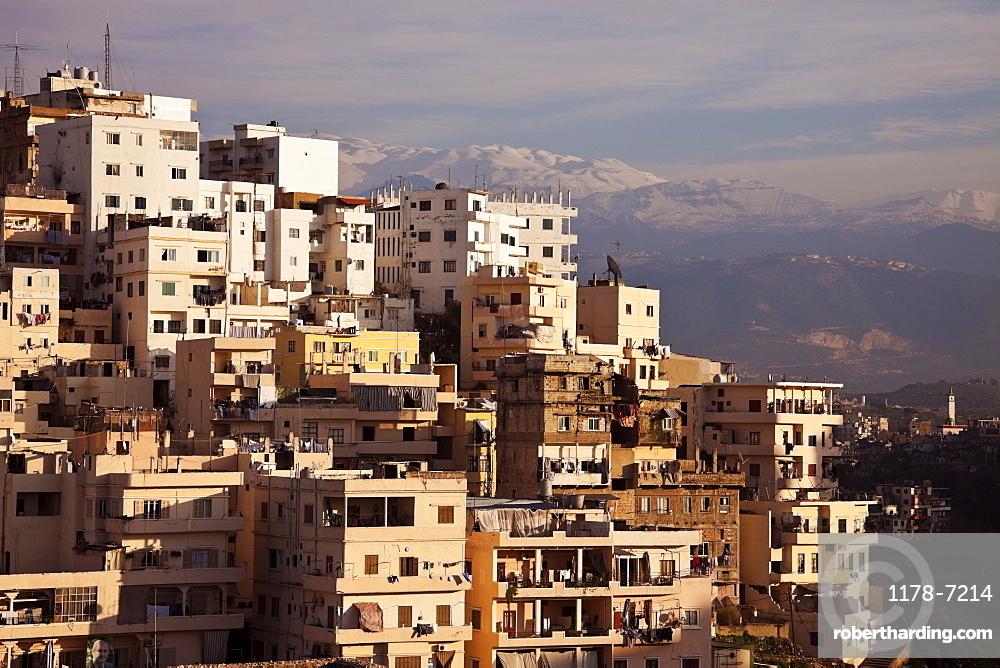Panorama of modern day Tripoli