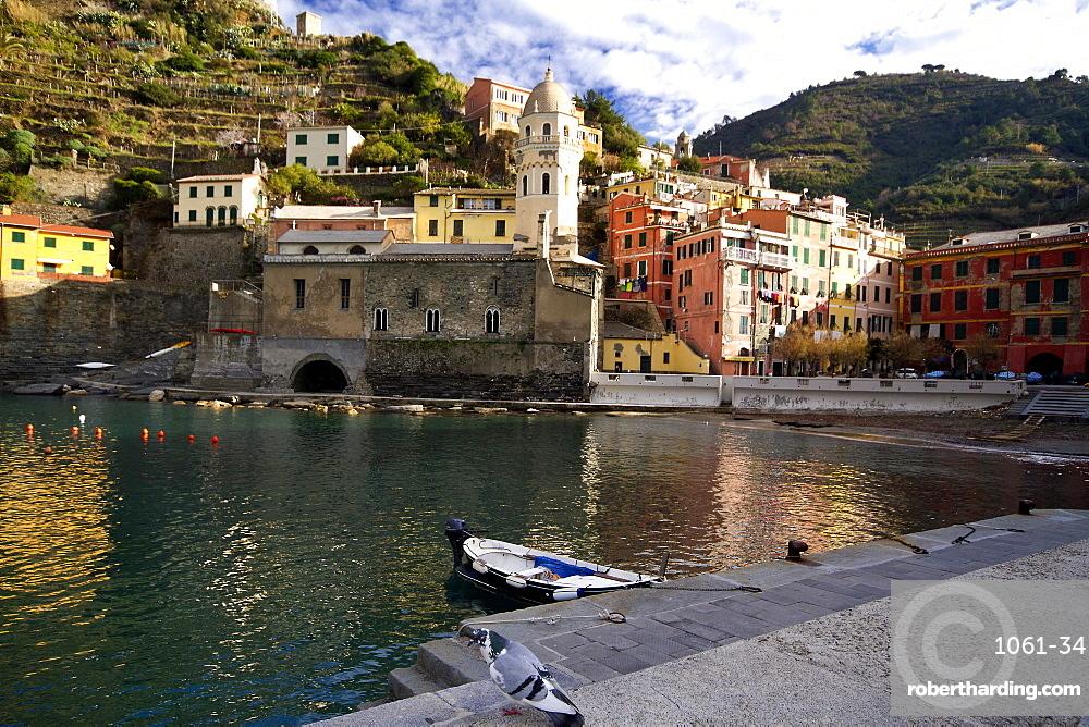 Port of Vernazza in the Cinque Terre