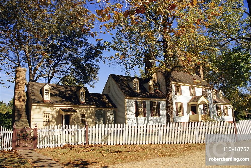Colonial Williamsburg, Virginia, USA, North America