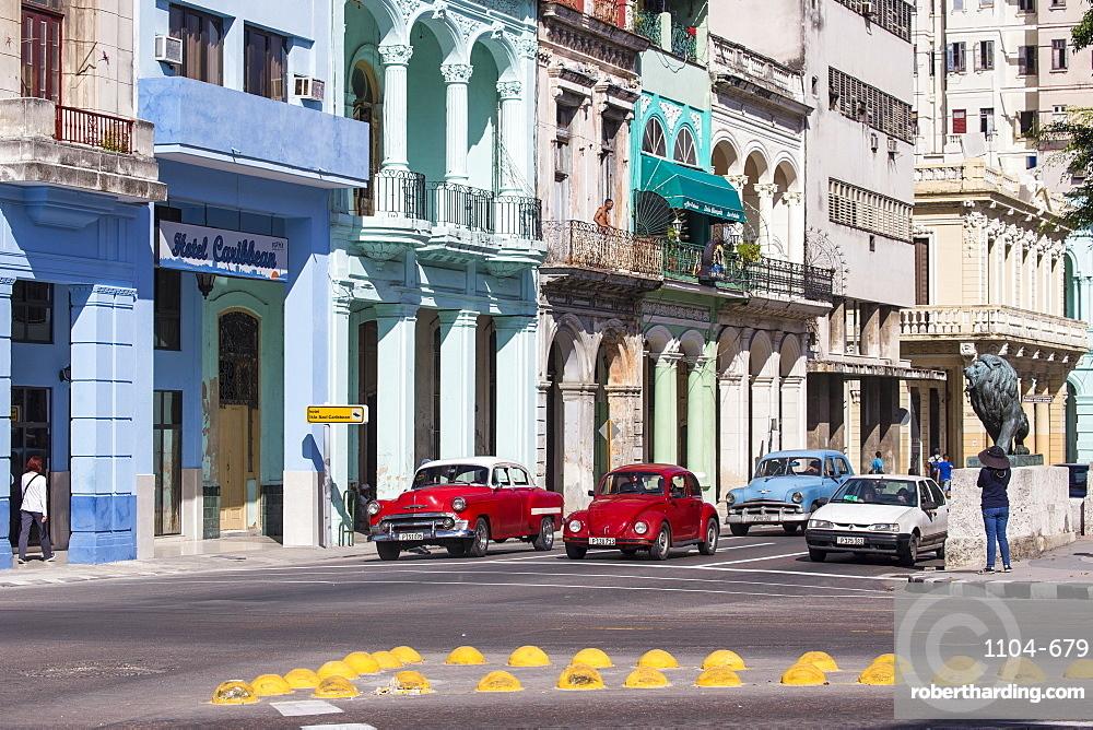 Paseo del Prado, The Prado, Havana, Cuba, West Indies, Caribbean, Central America