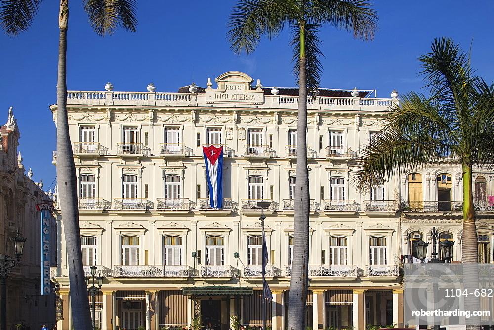 Hotel Inglaterra, Parque Central, Havana, Cuba, West Indies, Central America