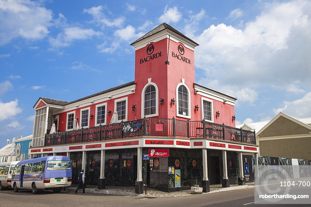 Bacardi building, Nassau, Providence Island, Bahamas, West Indies, Caribbean, Central America