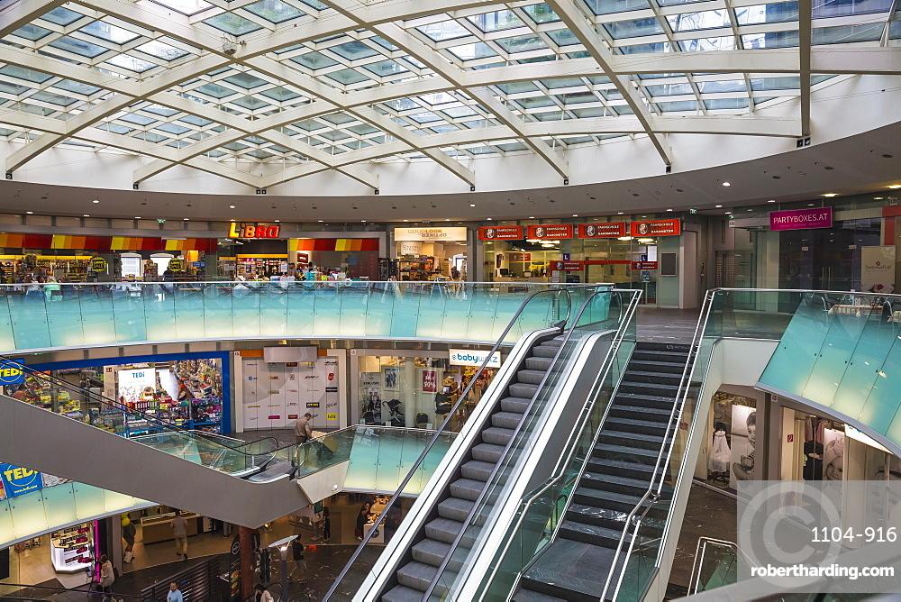 Gasometer shopping center, Vienna, Austria, Europe