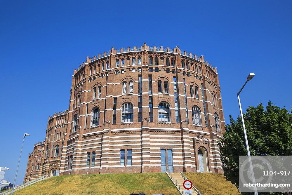 Austria, Vienna, Gasometer buildings
