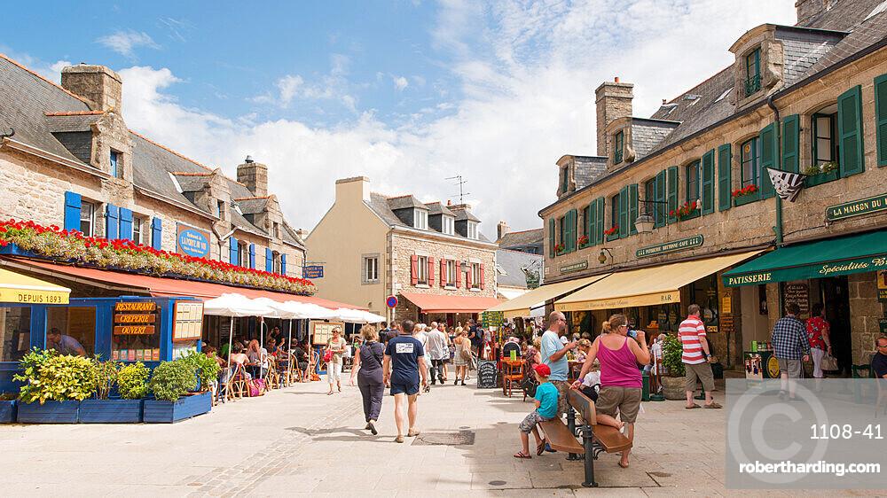 Entrance to Ville Close, Concarneau, Brittany, France