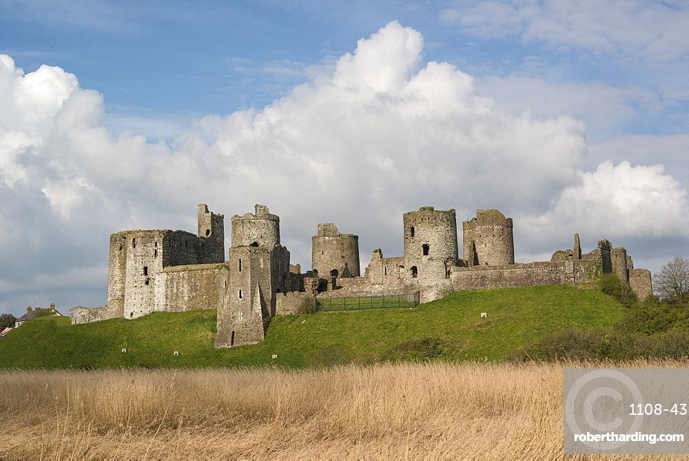 Kidwelly Castle, Carmarthenshire, Wales, UK