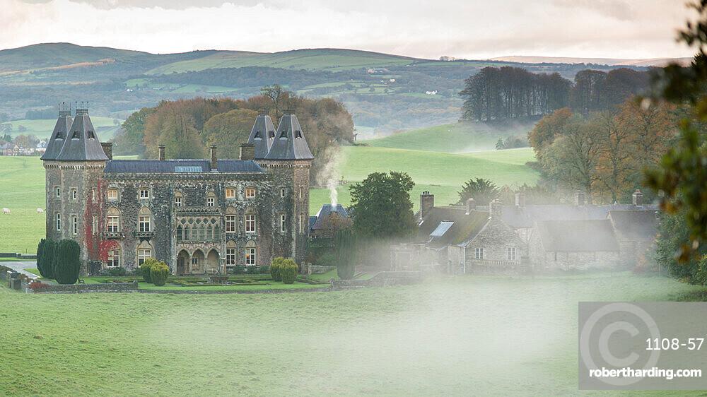 Newton House, Dinefwr Park near Llandeilo, Carmarthenshire, Wales, United Kingdom, Europe